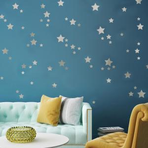 Yıldız Set Bebek & Çocuk Odası Duvar Sticker Çıkartma Seti