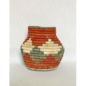 Morandi Hasır Dekoratif El Yapımı Vazo